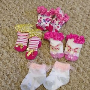 Baby Girl Socks Lot